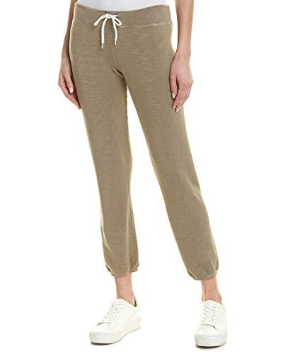 Monrow Women's Super Soft Vintage Sweats, Ash Green - Monrow Green