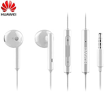 Huawei 3.5mm Wired Earphone Headphone Earbud Headset Compatible for iPhone iPod Samsung ASUS Lenovo TCL MP3 Volume Control