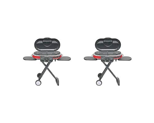 Coleman Propane Grill | Roadtrip LXE Portable Gas Grill (2 Set, LXE Portable, Red)