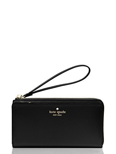 Kate Spade Grand Street Layton Black Wallet Wristlet WLRU2154 by Kate Spade New York