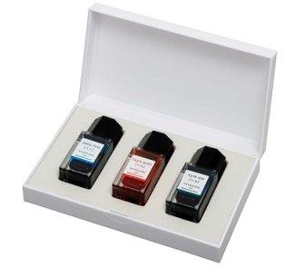 PILOT 色彩雫 ミニ3色セット15ml 専用ケース入り INK-15