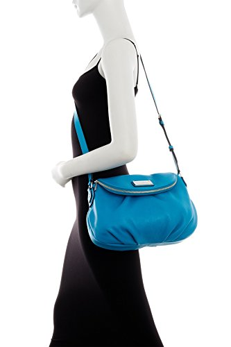 Large by Marc Jacobs Leather Turquoise Marc Natasha Handbag wt4dqq