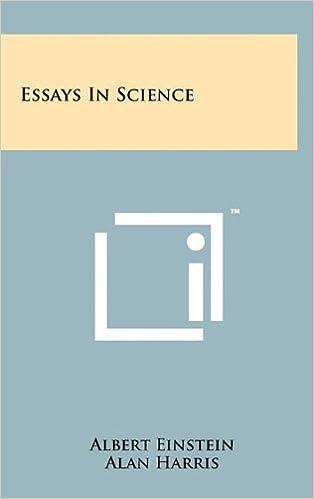 essays in science albert einstein alan harris essays in science albert einstein alan harris  amazoncom books