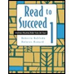Read to Succeed Level One, Robledo, 0618473742