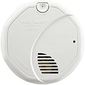 First Alert BRK 3120B-12 Hardwired Photoelectric and Ionization Smoke Alarm with Battery Backup, 12 Pack