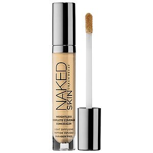 Urban_Decay Naked Skin Weightless Complete Coverage Concealer light warm