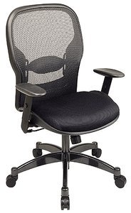 Space Matrex Back Managers Chair with Mesh Seat and Metal Base - 2300