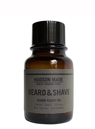Hudson Made - Organic Cedar Clove Beard + Shave Oil by Hudson Made