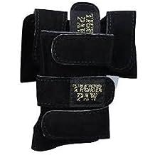Tiger Paws Gymnastics Black Wrist Wraps | Adjustable Wrist Support | Wrist Injury Prevention (small (69 lbs-115 lbs))