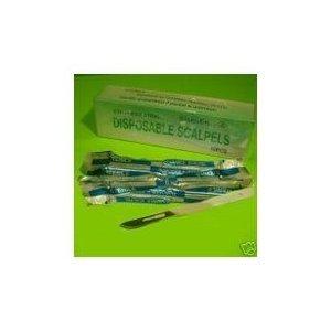 Scalpel #11 Disposable Generic (Box of 10)