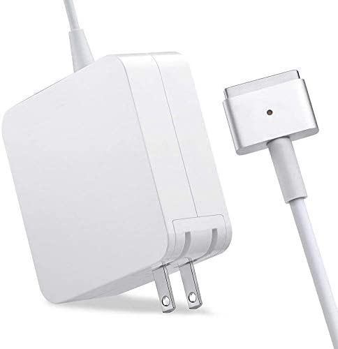 Mac Book Air Charger Replacement, AC 45W T-Tip for for 11 inch and 13 inch After Mid 2012