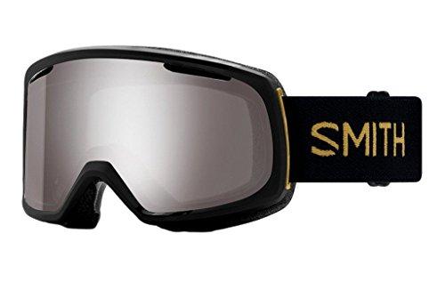 Smith Optics Riot Asian Fit Goggle - Women's Black Firebird Frame/ChromaPop Sun Platinum Mirror/Yellow (Ski Riot)