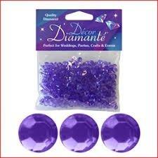 Eleganza 28 g 6 mm Decor Diamante Diamonds, Number 45 Lavender (Eleganza Diamond)