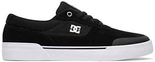 Dc Mens Switch Plus Sneakers Skate Nero / Bianco