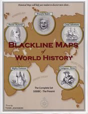 Blackline Maps of World History