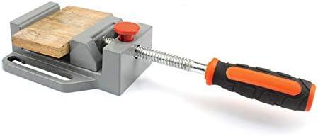 Iycorish ベンチ万力フラットトング多機能アルミドリルプレス万力テーブル、フライス彫刻木工電動工具用
