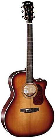 Guitarra folk CORT GOLDA8BLB: Amazon.es: Instrumentos musicales