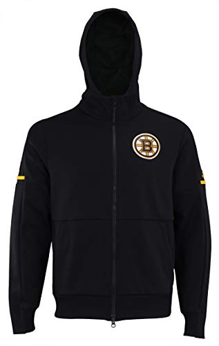 adidas NHL Center ICE Finished ZNE Jacket Bruin BLK ZNE J/NHL Bruins Size L