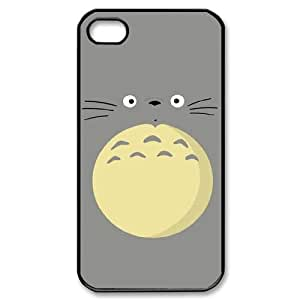 Hjqi - Custom TOTORO Phone Case, TOTORO DIY Case for iPhone 4,4G,4S