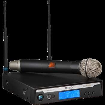 Electro-Voice R300-HD-B Handheld Wireless Microphone System by Electrovoice