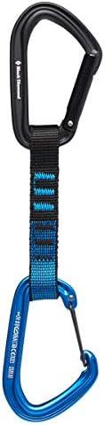 Black Diamond(ブラックダイヤモンド) ホットフォージハイブリッドクイックドロー 12cm(カラー:ブルー) BD10310 [並行輸入品]