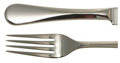 Cambridge Silversmiths Eloquence 20-Piece Flatware Set, Service for 4, 18/10 Stainless Steel - Eloquence Dinner