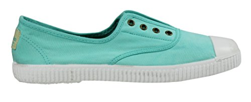 Victoria Womens Canvas Inglesa Elastico Fashion Sneakers Made In Spagna Agua