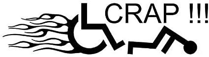 22.9Cmx5.7Cm Etiqueta De Calcomanía Para Silla De Ruedas Handicap Car Sticker Y Vinyl Car Styling