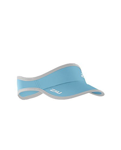 2XU Run Visor (One Size, Blue - Running Visor Mens