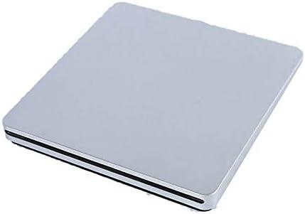 DVDドライブ タイプC外付けDVDバーナー超薄型外付けCD/DVDプレーヤーオプティカルドライブのPCのラップトップデスクトップWindows CDドライブ (Color : Gray, Size : One size)