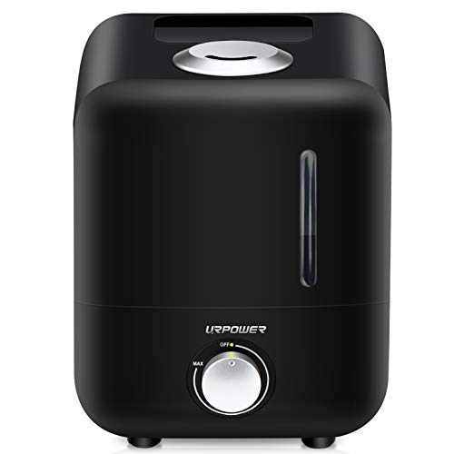 Cheap URPOWER Humidifiers, 3.5 litres Waterless Auto Off Ultrasonic Humidifiers for Bedroom, Baby Room, Office, Super Quiet Cool Mist Humidifier with Filter, Sleep Mode, Adjustable Mist Direction & Output