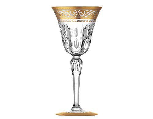 St. Louis Stella Gold # 1 American Water Glass-8.25''