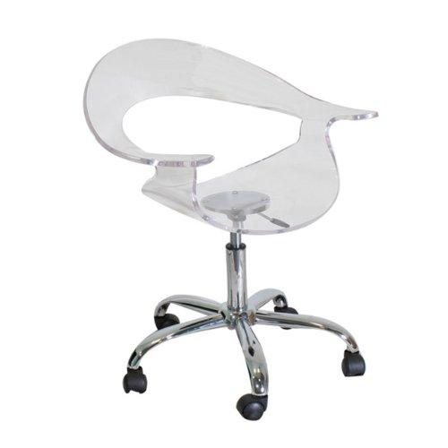 LumiSource Rumor Chair, Clear ()