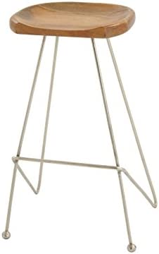 Deco 79 Wood Metal Bar Stool, 16 x 32