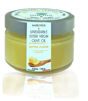 Buttery Spread - Spreadable Extra Virgin Olive Oil Butter Flavor ()