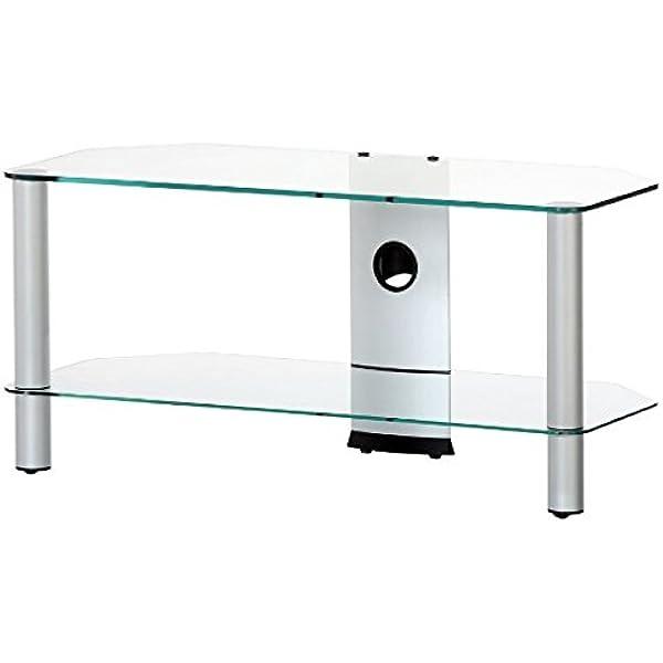 RO&CO - Mueble TV. Ancho 90 cms. 2 estantes. Vidrio Transparente ...