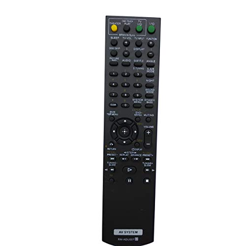 Universal Remote for Sony Audio/Video Receiver DAV-HDX275 DAV-HDX285 DAV-HDX576WF DAV-HDX285 DAV-HDX589W