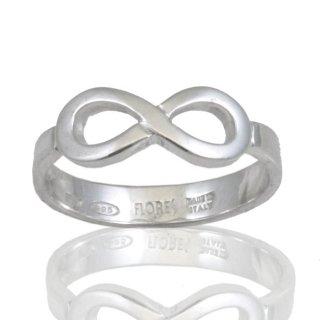 design senza tempo 33fb2 1e374 Anello con simbolo Infinito in argento 925/1000. Grammi 2,50