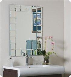Montreal Modern Wall Mirror (Mirror) (31.5