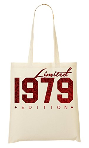 Birth Fourre Of 1979 Birthday Numbers Sac Graphic Shutup À Provisions tout 6Stqwfxw