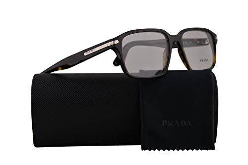 Prada PR09TV Eyeglasses 55-17-140 Tortoise w/Demo Clear Lens 55mm 2AU1O1 VPR 09T PR 09TV VPR09T -