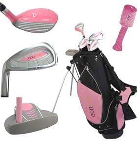 Golf Girl Junior Golf Club Set with Stand Bag