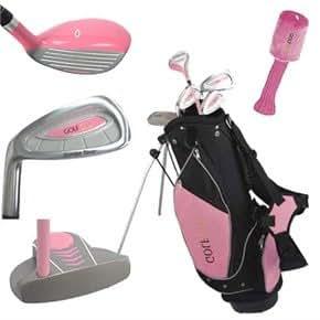 Amazon.com: Golf Girl Junior Golf Club Set con bolsa de ...