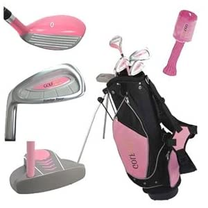 Junior Girl Golf Club Set