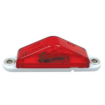 Amazoncom Grote Clrmkr Lamp Red Peak Lens 45512 Automotive