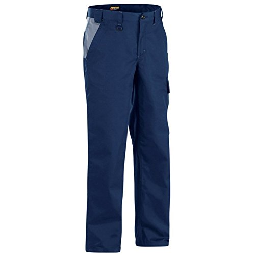 140418008994C56 Trousers''Industry'' Size 40/32 (Metric Size C56) IN Navy Blue/Grey