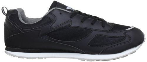 Lico Nelson 110081 - Zapatillas de deporte para hombre Negro (Schwarz/grau)