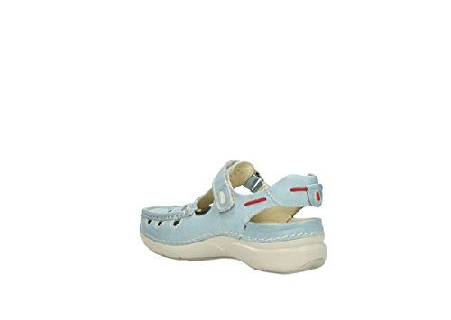 Wolky, Damen-slipper, Rolling-summer, 7201 Violett