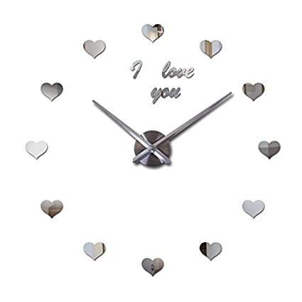 EverTrust(TM) new 3d wall clock diy clocks reloj de pared Quartz watch Living