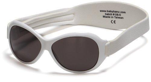 Kidz Banz Retro Banz Oval Kidz Sunglasses, Arctic White by Baby (Kidz Banz Retro Sunglasses)